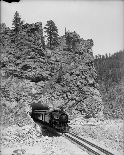 The first train made its way through the tunnel in February 1928 and the travel hasn't slowed down since.