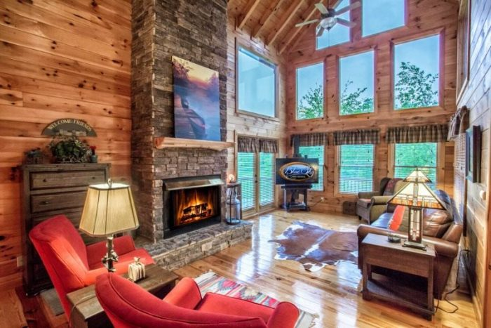 4. A Romantic Hideaway in the Mountains