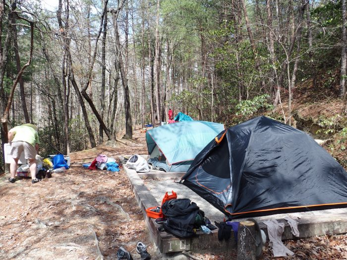 4. Go camping in the mountains to escape the heat and humidity the SC summer brings.