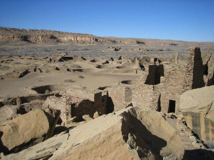 1. Chaco Culture National Historical Park, near Nageezi