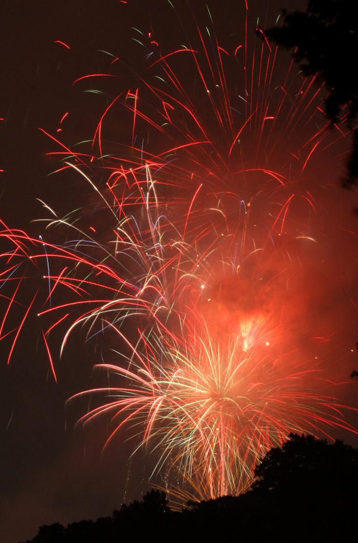 WV Miners Present Fireworks Night, Charleston