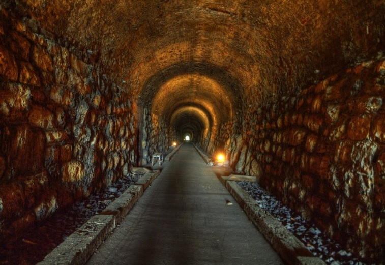 This Unique Tunnel In Georgia Is Also Haunted