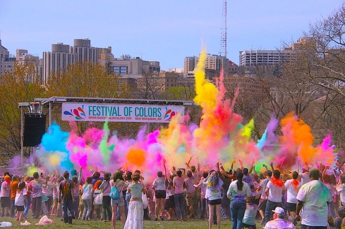 6. Festival of Colors, Moundsville