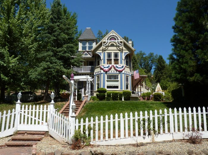 Victorian Homes - in tree studded neighborhoods