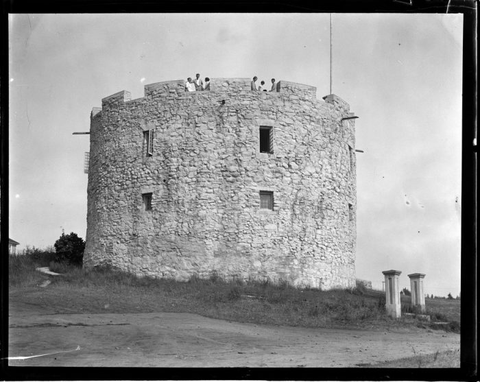 15. The fort at the Colonial Pemaquid State Historic Site looks very similar today.