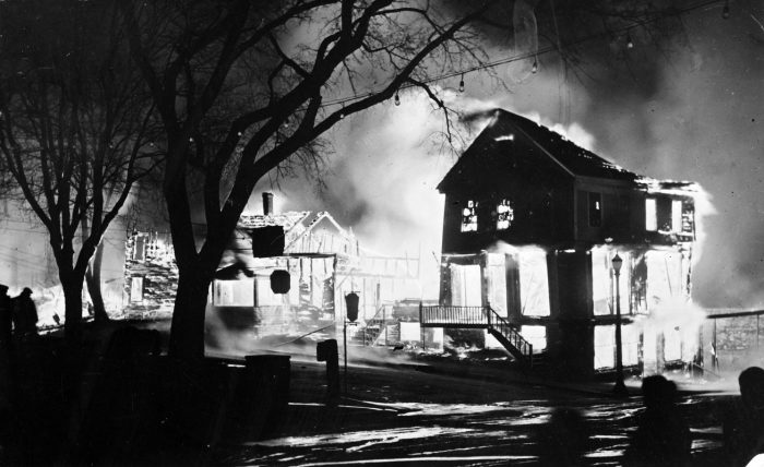 3. The night of the May 1933 fire in Androscoggin County was one of the saddest in Maine history.