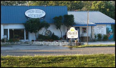 3. Cypress Creek Inn Restaurant (Comfort)