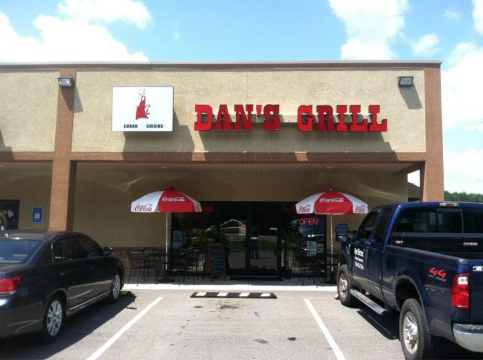 7. Dan's Grill—305 Murphy Hwy, Ste 10, Blairsville, GA 30512