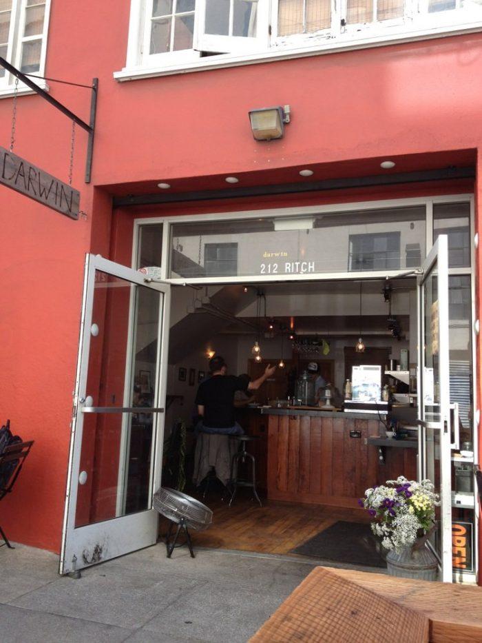 3. Darwin Cafe