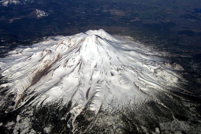 9. Mt. Shasta