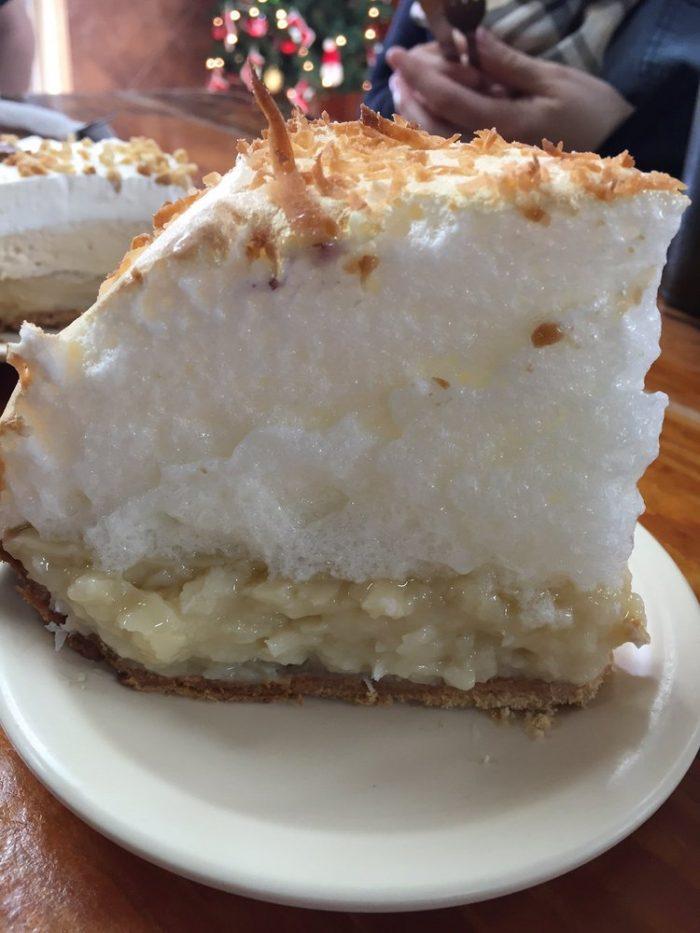 2. Meringue pie at Koffee Kup Restaurant (Hico)