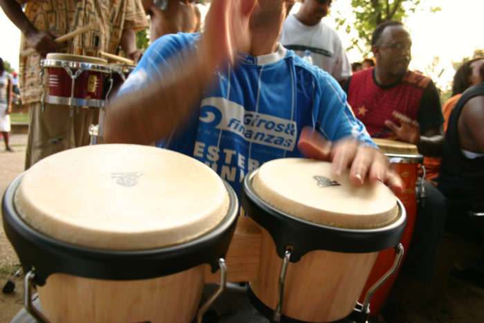 10. Hear the drum circle in Meridian Hill Park.