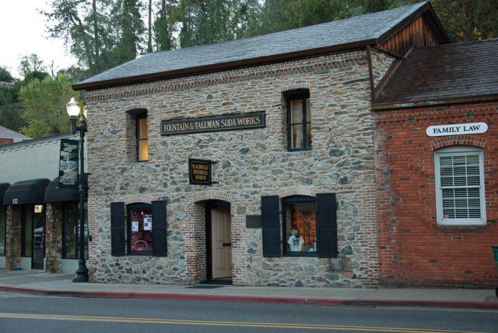 The El Dorado County  Historical Society -- 524 Main Street