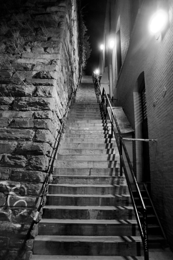 13. The Exorcist Steps