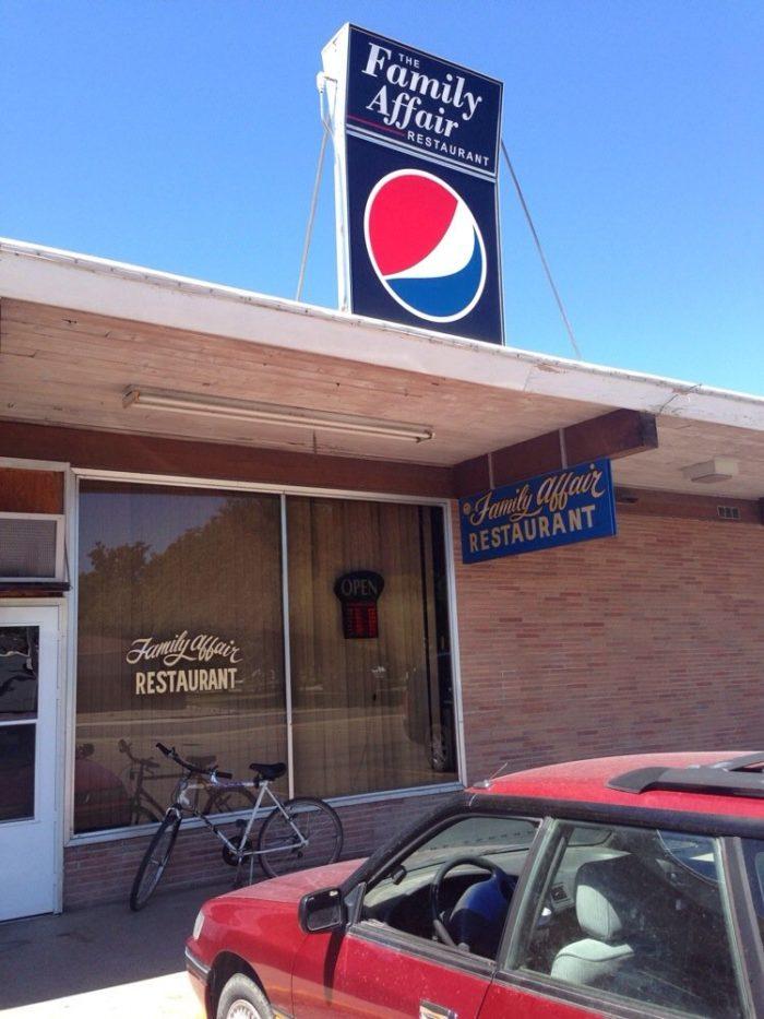 13. Family Affair Restaurant, Great Falls