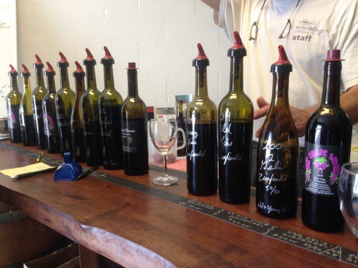 9. Get a free wine tasting at Treasure Island's Fat Grape Winery.