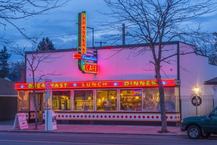 Ferguson S Café Spokane 804 W Garland Ave
