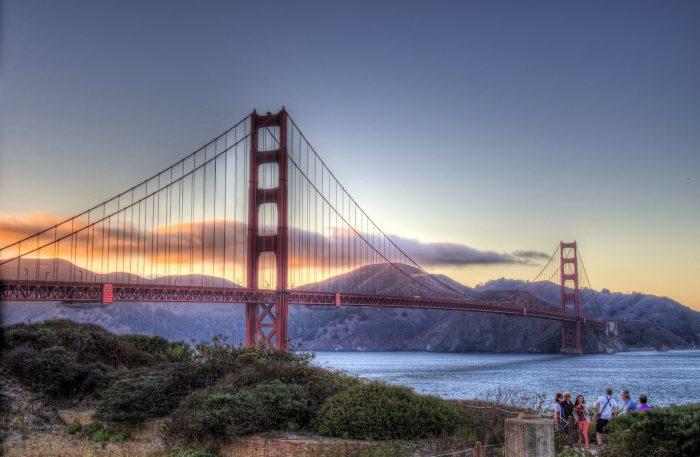 2. The Golden Gate Bridge