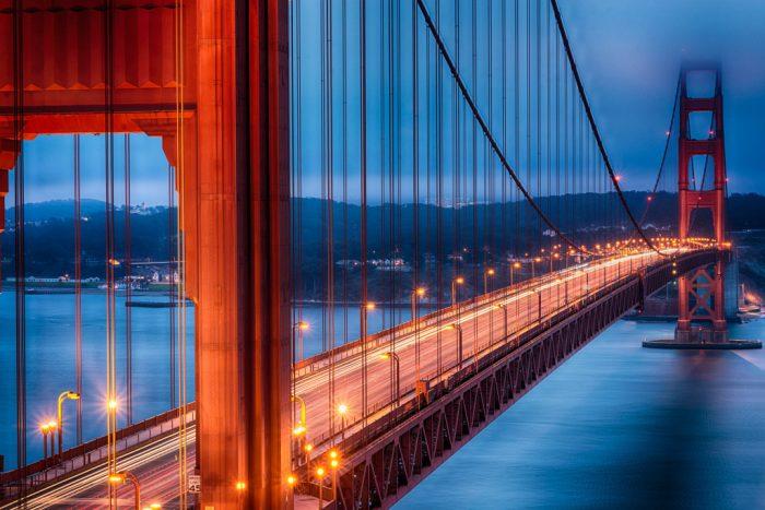 1. Walk or bike the Golden Gate Bridge.