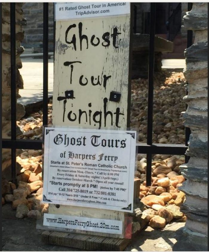 7. Finish the evening with a ghost tour walk.