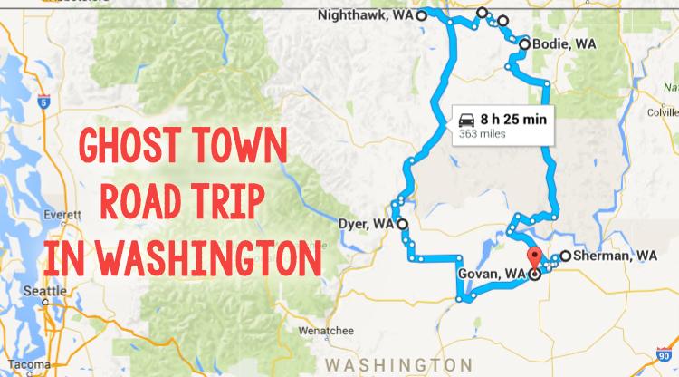 Road Trip Through Washington Ghost Towns