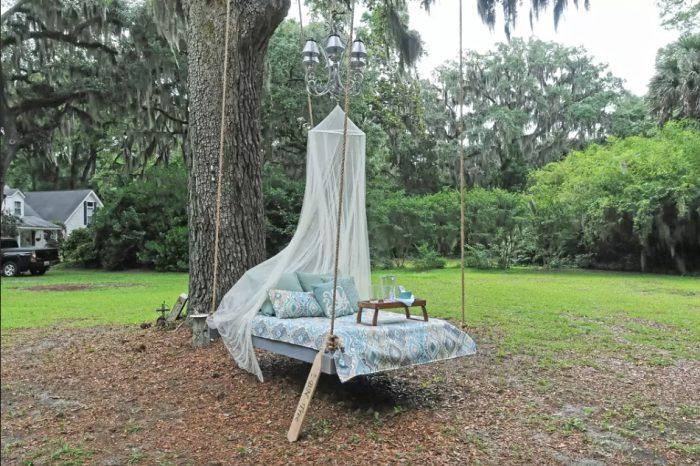 2. Glenda's Hanging Bed (BNTree) - Bluffton, SC