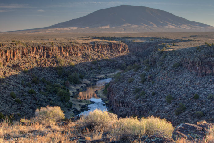 6. Witness the wonder of the Rio Grande Gorge.