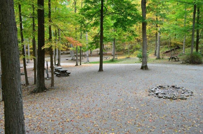 7. The Great Divide Campground, Newton