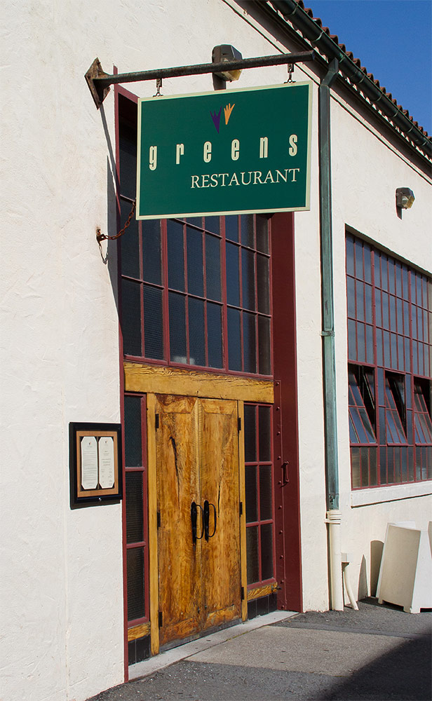 7. Greens Restaurant: 2 Marina Boulevard, Fort Mason