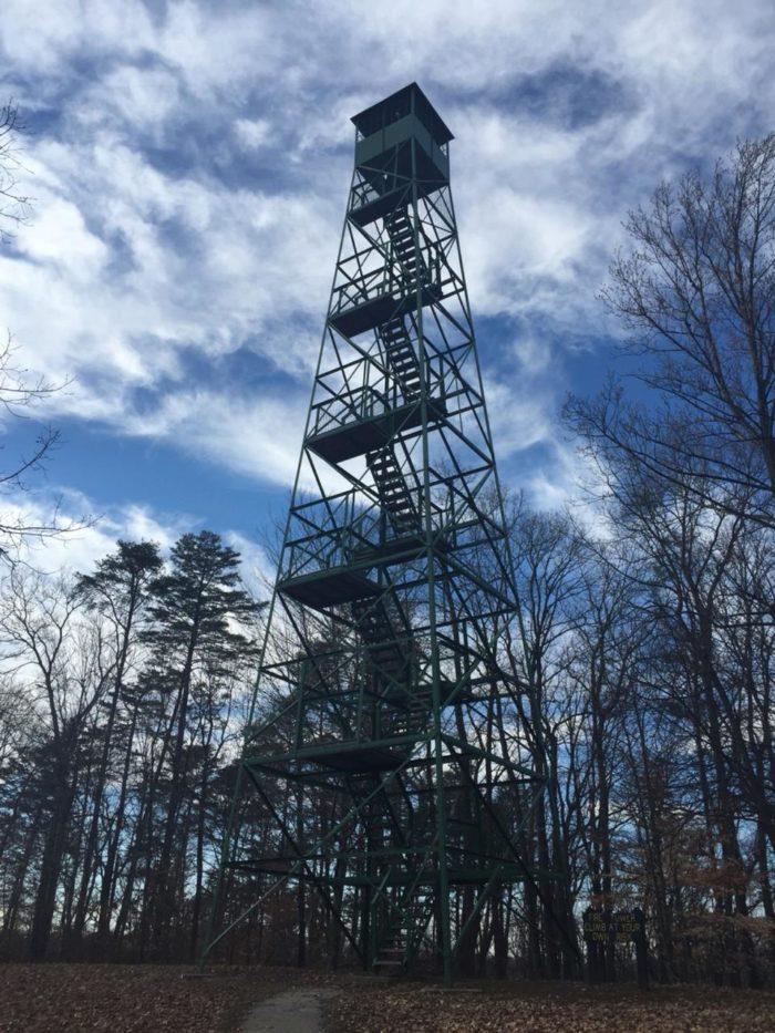 5. Henryville Fire Tower - Henryville