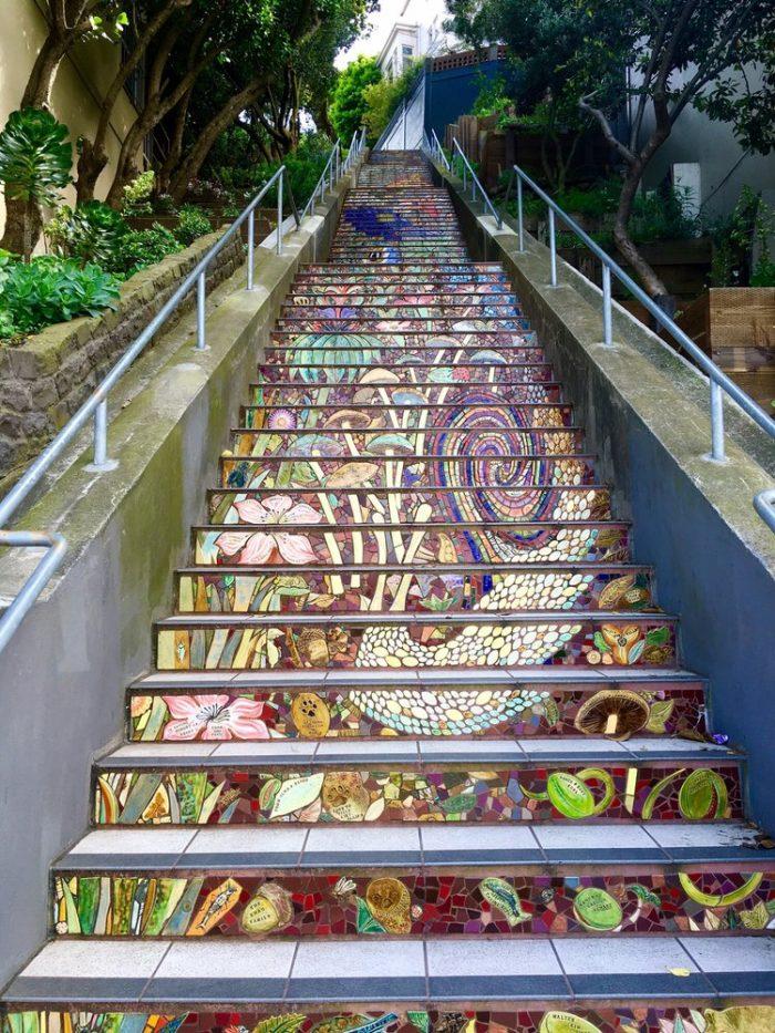 6. Hidden Garden Steps