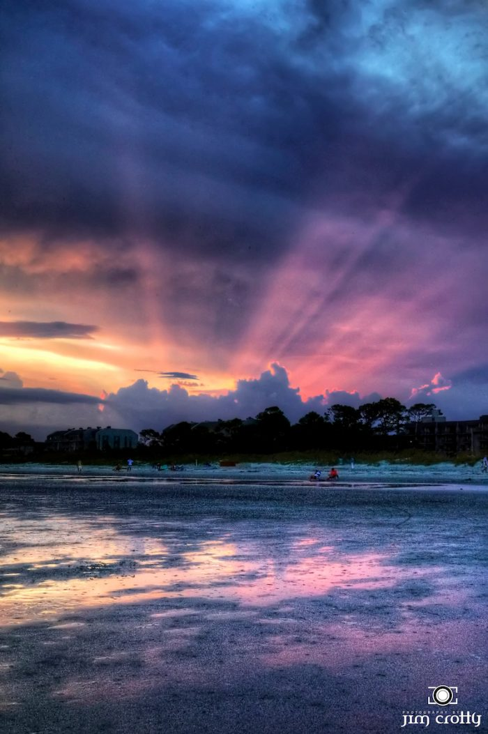 4. Hilton Head Island at sunset.