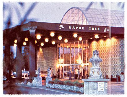 Entrance to Kapok Tree Inn