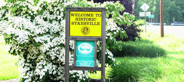 Sykesville is a historic small town that is home to around 4,500 people.