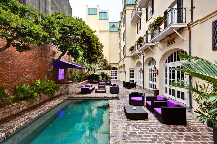 11 inexpensive places to stay in louisiana for Pool design new orleans