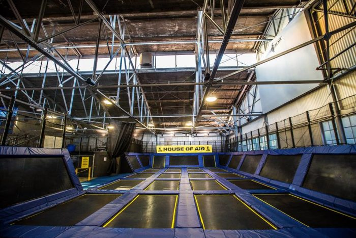 1. Jump for your love at the House of Air trampoline park.
