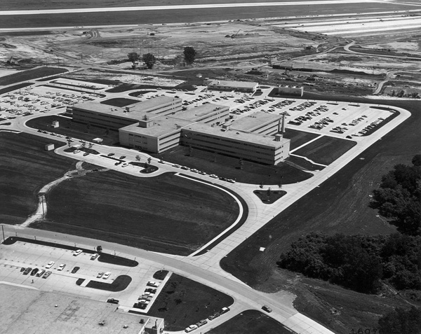 2. An aerial view of the SAC compound in 1958.