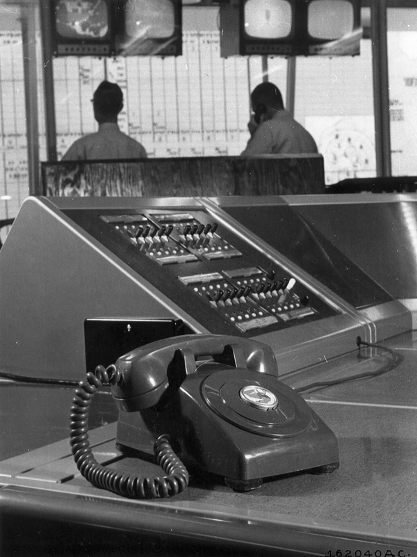 """5. The infamous """"Red Telephone"""" in 1959."""