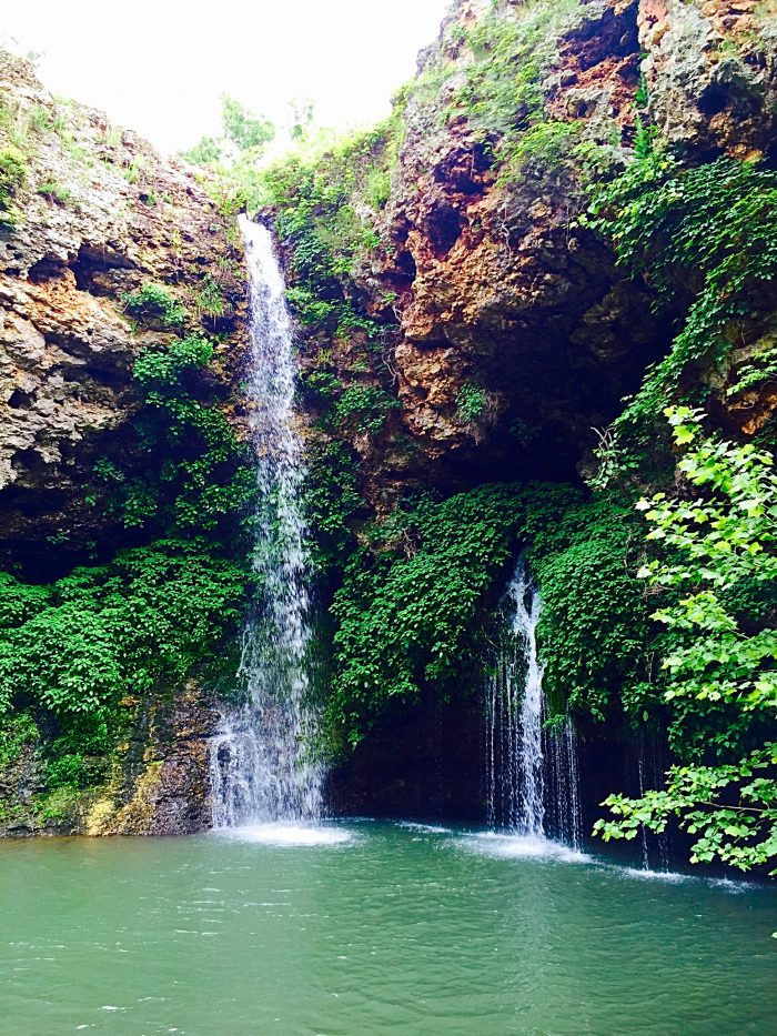 You can't miss these breathtaking waterfalls.
