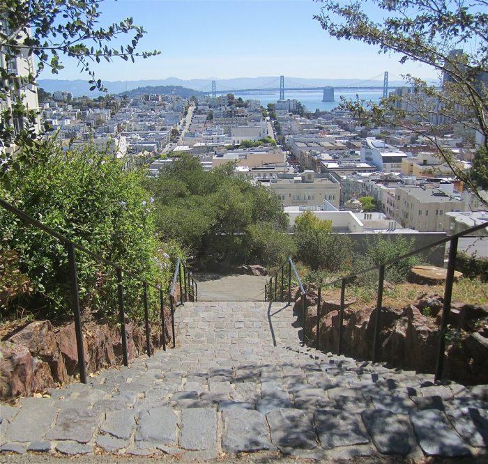 10. Vallejo Street Stairs