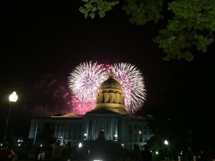 Jefferson City fireworks