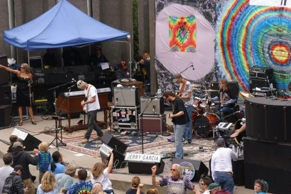 8. You can even catch a show at the Jerry Garcia Amphitheater. True Deadheads will definitely want to be there for Jerry Day.