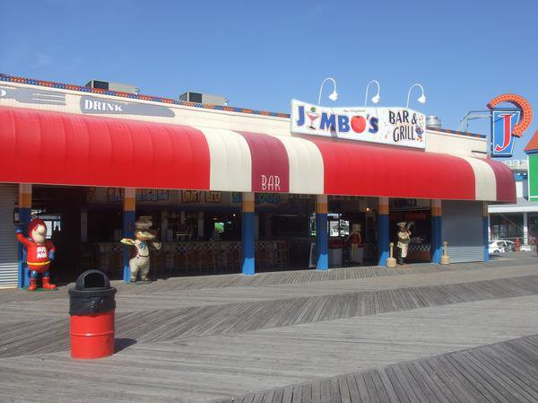 8. Jimbo's Bar and Grill, Seaside Heights