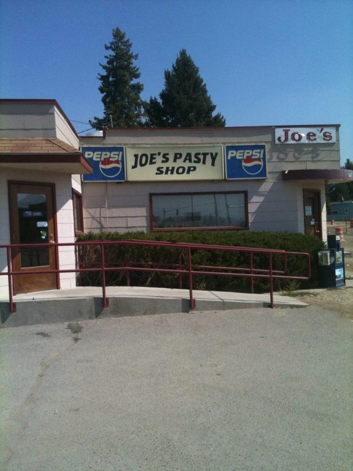 8. Joe's Pasty Shop, Butte