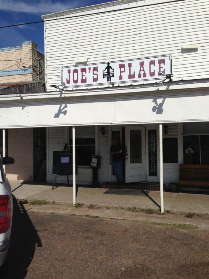 4. Joe's Place (Fayetteville)