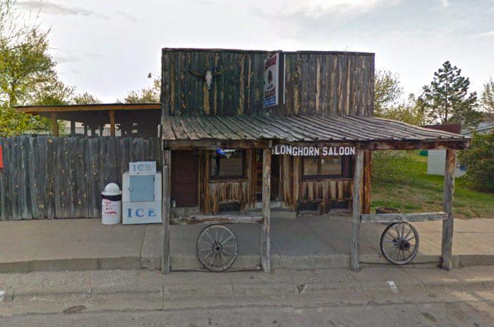Check this restaurant in Harrison: Jory Bob's Longhorn Saloon - 168 Main St, Harrison, NE 69346