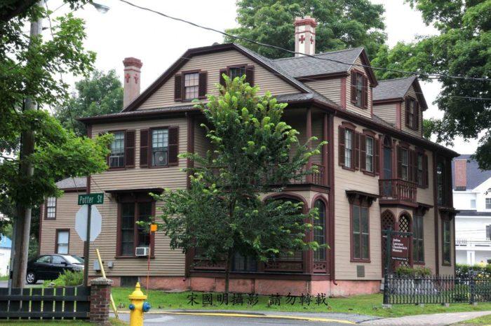 11. The Joshua Chamberlain House, Brunswick