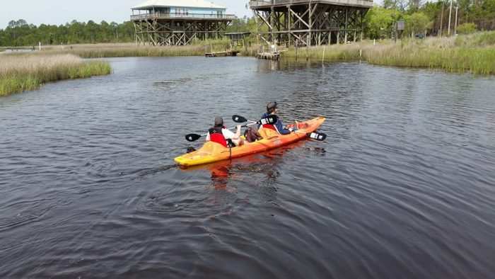 The reserve even offers guided canoeing and kayaking tours.