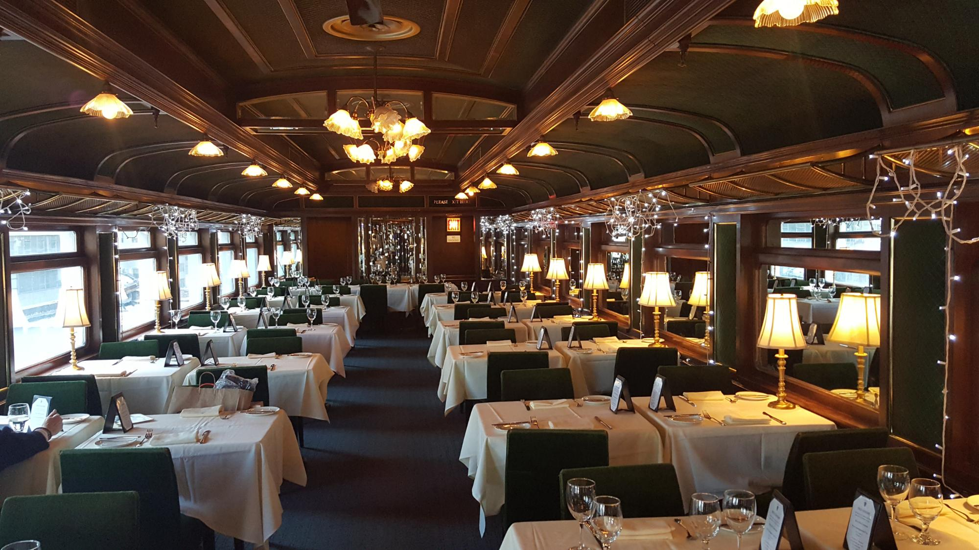 Train Car Restaurant Ohio
