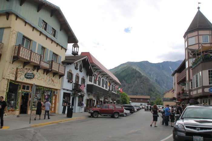 7. Instead of Leavenworth…